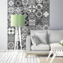 Papier peint ARABESQUE - BLACK & WHITE