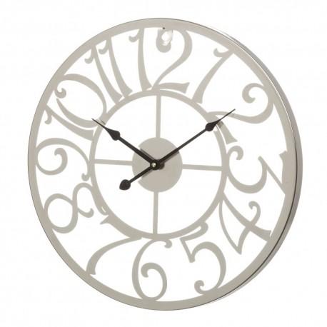 Horloge en métal II 45 x 45 x 3,5 cm