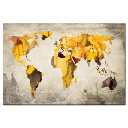 Tableau Continents ensoleillées
