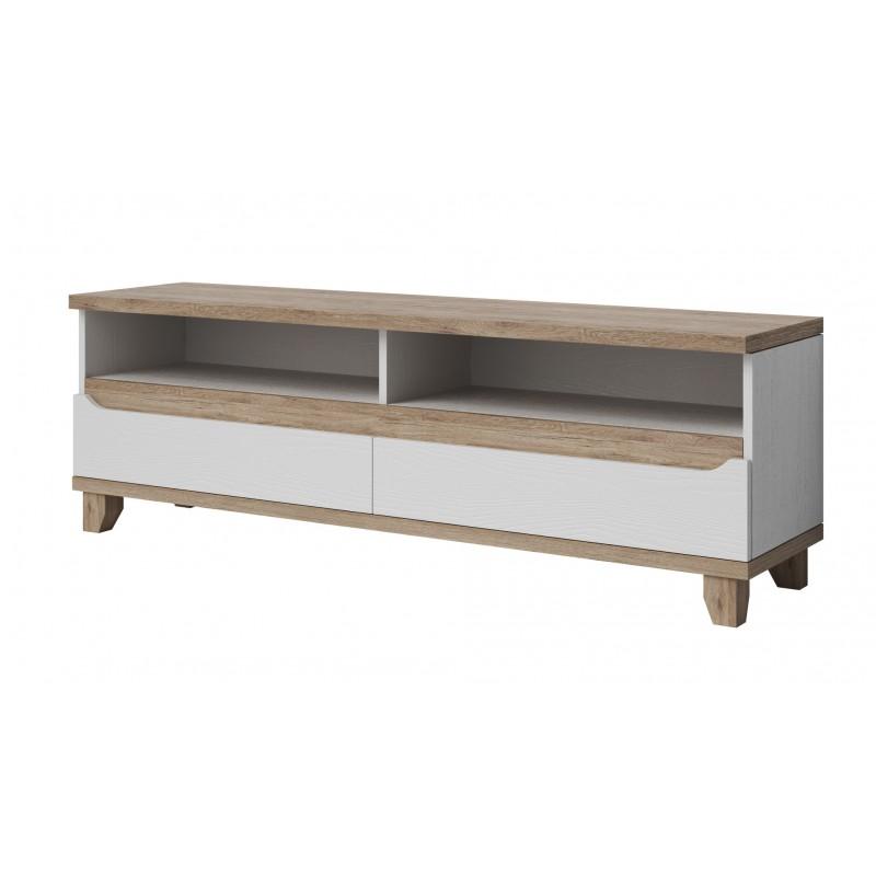 meuble de t l vision design scandinave scandic avec 3. Black Bedroom Furniture Sets. Home Design Ideas