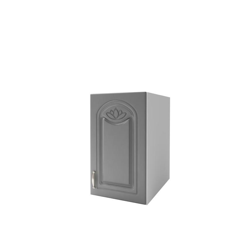 meuble de cuisine haut 1 porte 40 cm dina m lamin avec 1 tag re. Black Bedroom Furniture Sets. Home Design Ideas