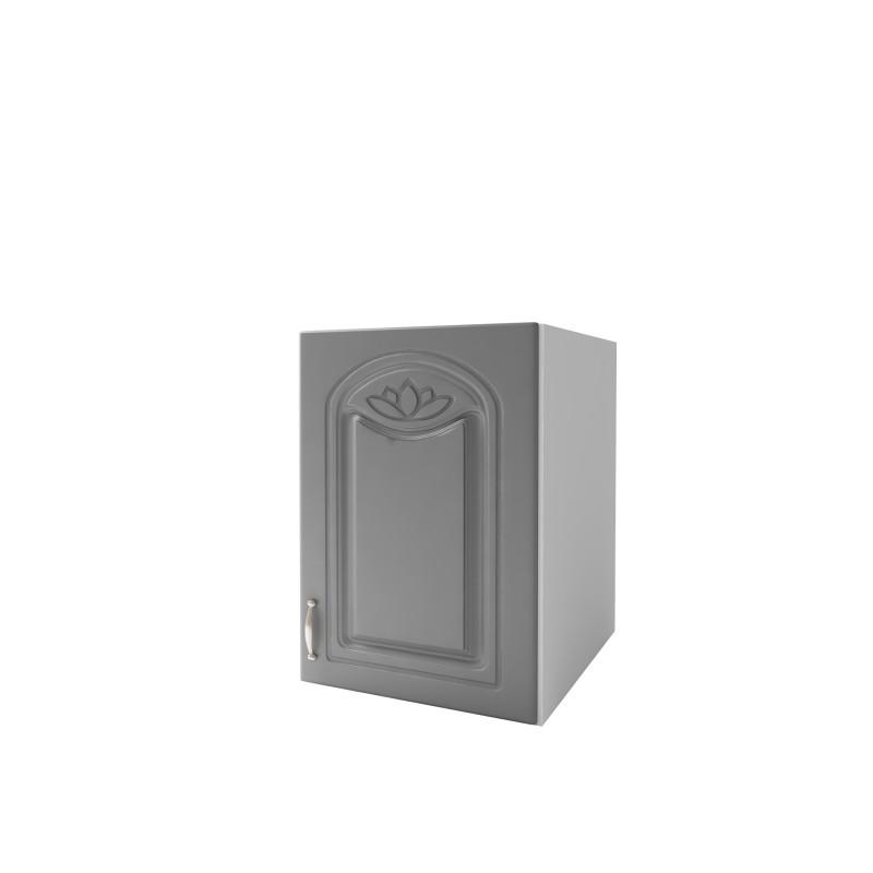 meuble de cuisine dina 50 cm 1 porte 1 tag re m lamin e. Black Bedroom Furniture Sets. Home Design Ideas