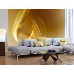 Papier peint Gold fractal background