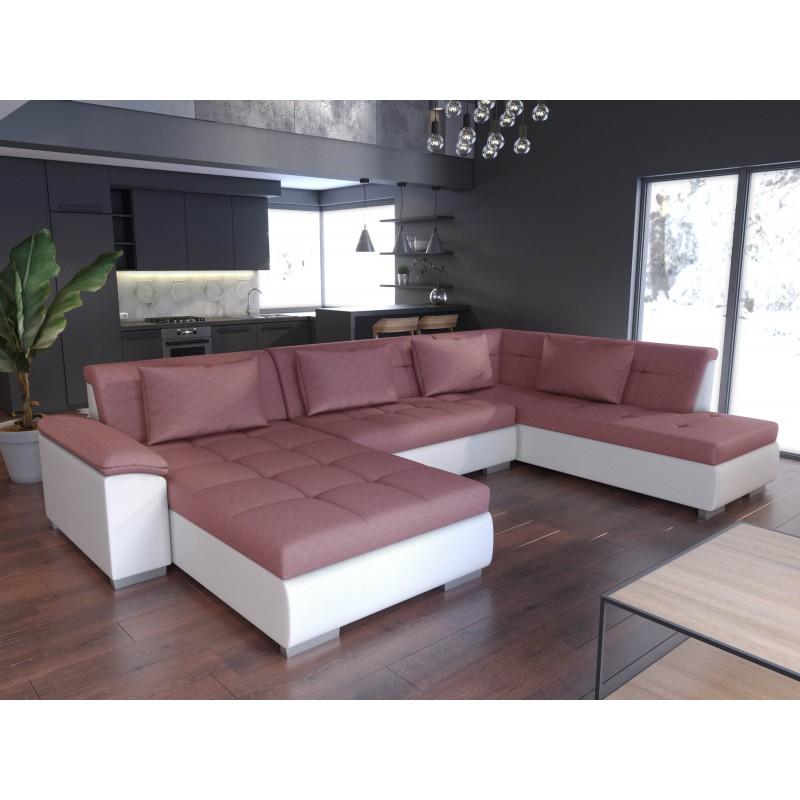 canap panoramique convertible lemon un grand canap. Black Bedroom Furniture Sets. Home Design Ideas