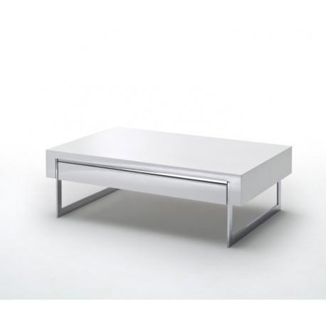 Table Basse Dipsy Blanc laqué