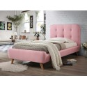Lit TIFFANY rose style scandinave 90 x 200 cm