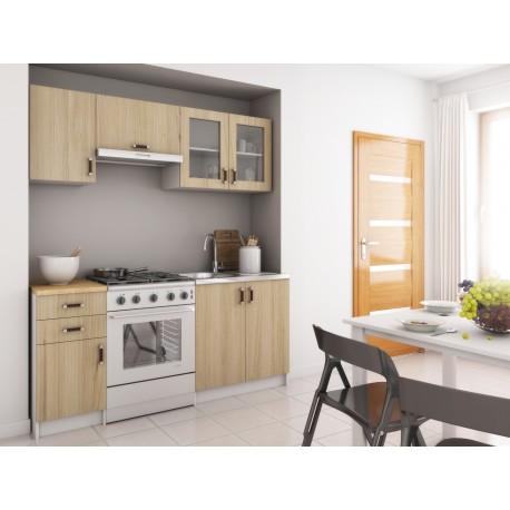 cuisine oli 180cm en bois. Black Bedroom Furniture Sets. Home Design Ideas
