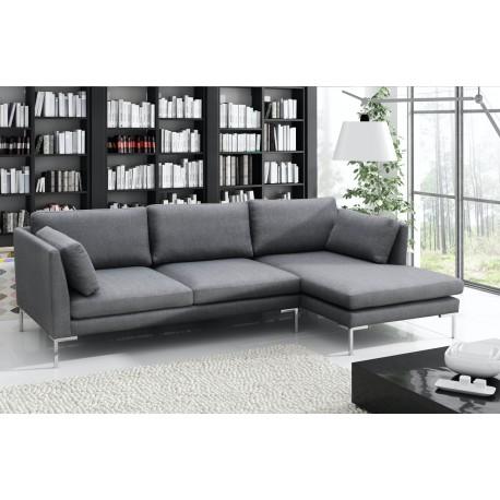 Canapé d'angle OCEANIA II design gris