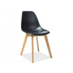 Chaise scandinave MORIS pieds bois de hêtre