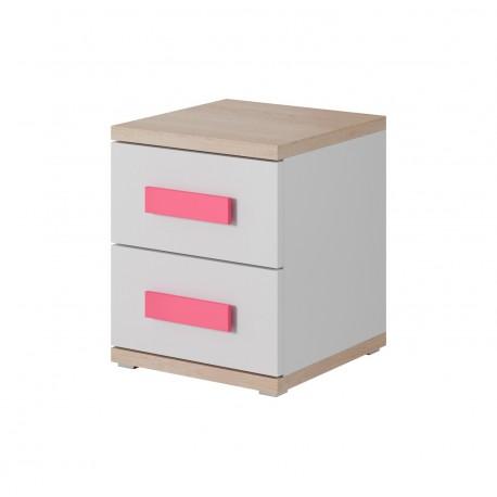 Table de chevet UNO 2 tiroirs