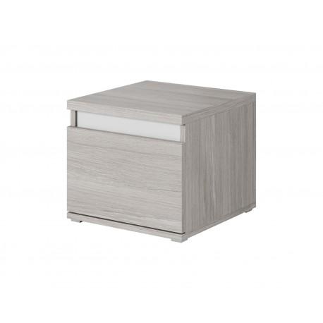 Table de chevet MONTREAL 1 tiroir gris