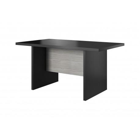 Table OLEN couleur gris et noir moderne