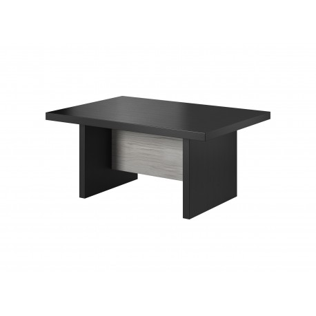 table basse olen couleur gris ch ne et noir. Black Bedroom Furniture Sets. Home Design Ideas
