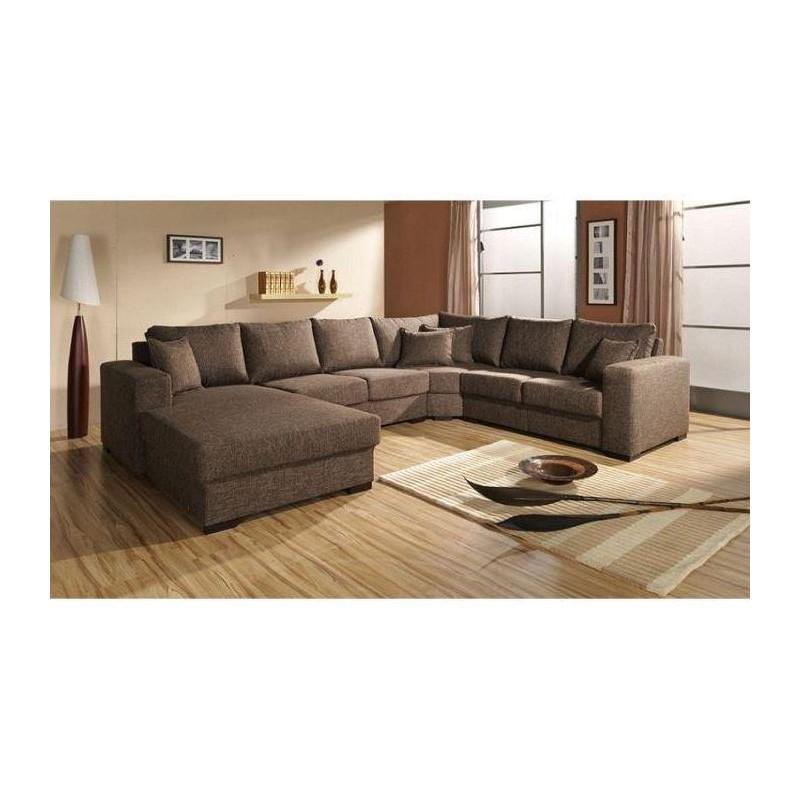 canap d 39 angle panoramique en u oara tendencio. Black Bedroom Furniture Sets. Home Design Ideas