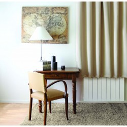 Rideau occultant uni à oeillets 140 x 180 cm
