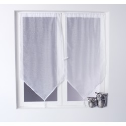 Voilage vitrage Onna (60 x 160 cm) Blanc