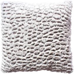 Coussin frappé écaille FOVE (40 x 40 cm)