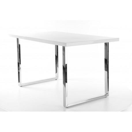 Table RING avec pieds en chrome