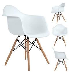 Lot de 4 chaises scandinaves retro OJIE