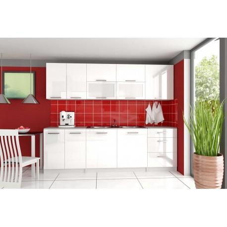 Cuisine compl te 2m60 laqu e tara design moderne for Cuisine complete prix