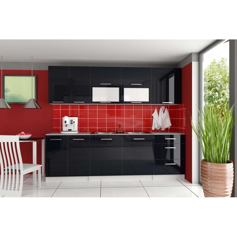 Cuisine compl te 2m60 laqu e tara design moderne for Cuisine complete moderne