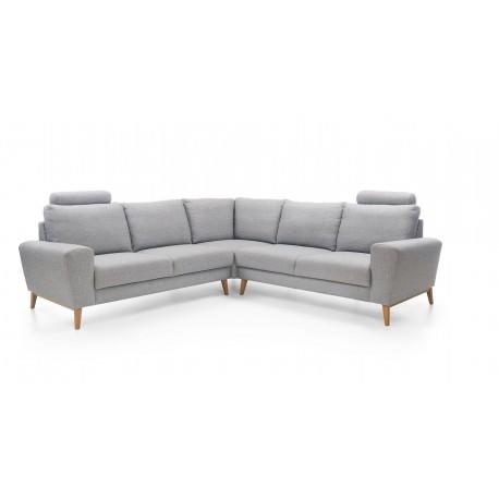 Canapé d'angle en L MOUNA I style scandinave