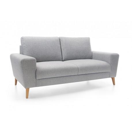 Ensemble de canapés MOUNA 3 places, 2 places et fauteuil de style scandinave
