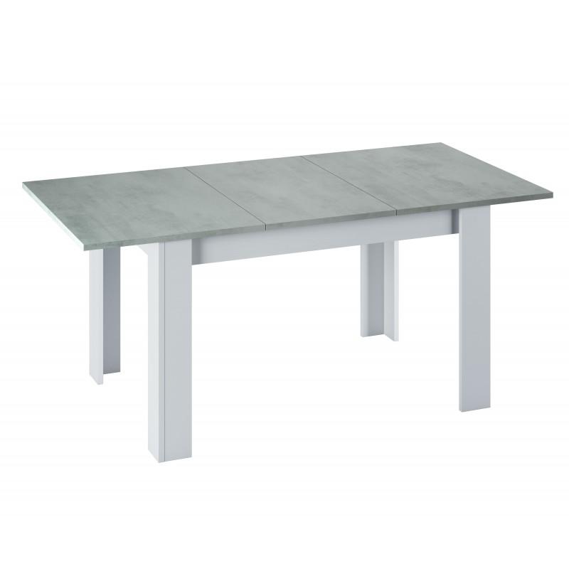 Couleur Table Extensible Béton Kenda Avec Plateau sdChQrtx