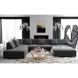 Canapé d'angle panoramique ATIS