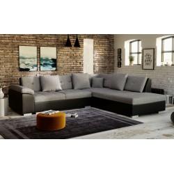 Canapé d'angle TANOS 5 personnes à petit prix