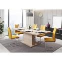 Table rectangle + allonge GLIANT 160 - 200 cm