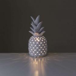 Lampe céramique blanc