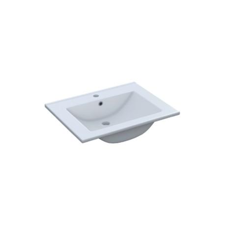Vasque en céramique de 60x45 cm