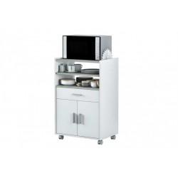 Meuble pour micro-onde 1 tiroir 1 porte