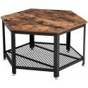 Table basse vintage industrielle VISI