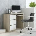 CINO - Bureau avec 3 tiroirs 90 cm