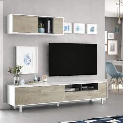 Ensemble meuble tv CARA style scandinave