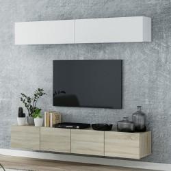 Ensemble meuble TV suspendu MINA 200 cm