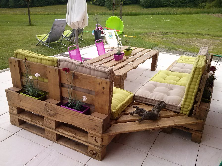Un peu de bricolage...fabriquer son mobilier en recyclant ...